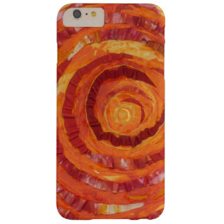 2nd-Sacral Chakra - Orange Paint-Fabric #2 Barely There iPhone 6 Plus Case