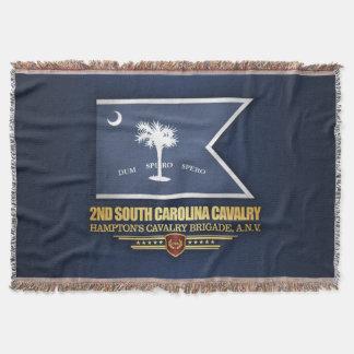 2nd South Carolina Cavalry Throw Blanket