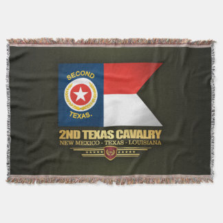 2nd Texas Cavalry Throw Blanket