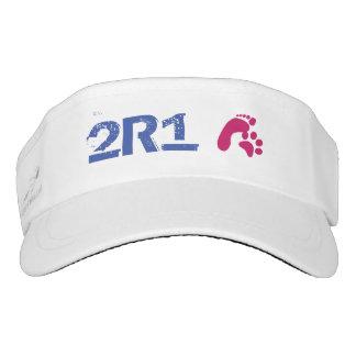 2R1 (2 Species 1 Bond) with Paw Prints Visor