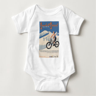 2SNOWBALL SPECIAL FB RACE BABY BODYSUIT