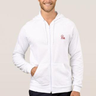 2ube Records official men's fleece hoodie (medium)