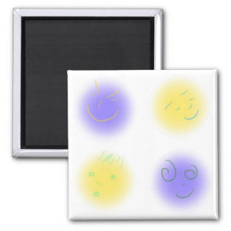 2x2 Little Faces YxP Refrigerator Magnets