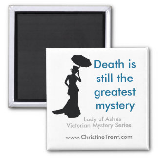 2x2 SQ Magnet - Death Greatest Mystery