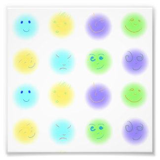 2x4 Little Faces A1 Art Photo