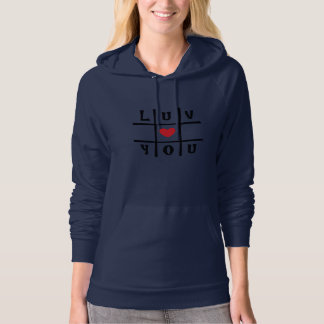 2xl hoodie luv you by DAL