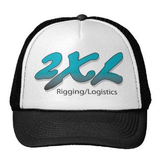 2XL Inc. Black Truckers Cap Mesh Hat