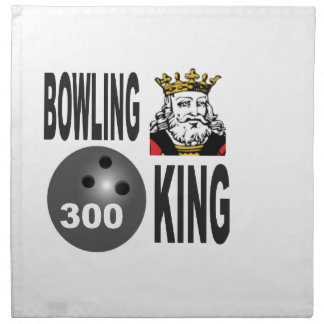 300 bowling king napkin