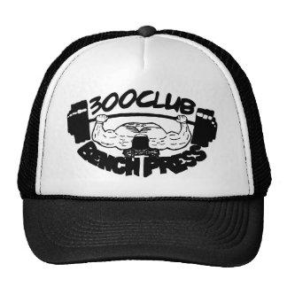 300 Club Bench Press Hat / Cap