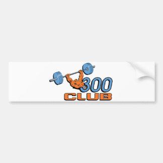 300 Club Bumper Sticker