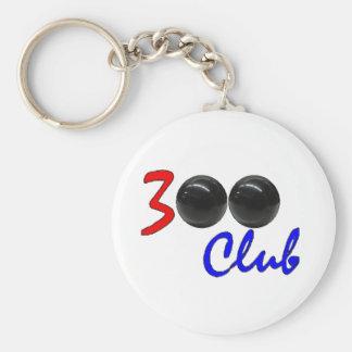 300 Club - Perfect Bowling Game Gift Key Ring
