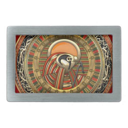[300] Egyptian Sun God Ra Belt Buckles