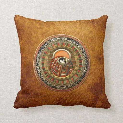 [300] Egyptian Sun God Ra Throw Pillows
