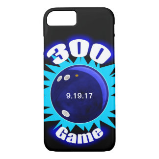 300 Game Blues, bowling ball graphic iPhone 8/7 Case