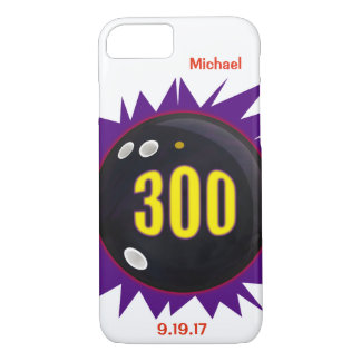 300 Game Bowling Ball Graphic iPhone 8/7 Case