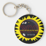 300 Perfect Game Basic Round Button Key Ring