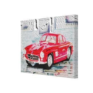 300 SL - Digitally Work Jean Louis Glineu Canvas Print
