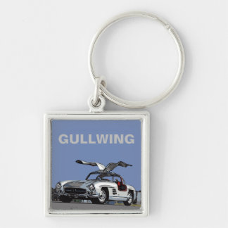 300 SL - GULLWING KEY RING