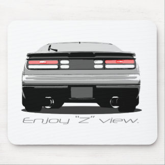 "300zx ""Enjoy Z view."" Mouse Pad"