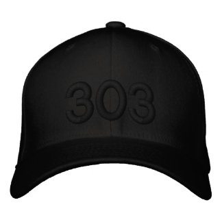 303 EMBROIDERED BASEBALL CAPS