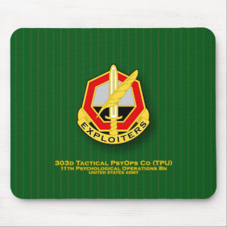 303d Tactical Psychological Operations Co TPU DUI Mouse Pad