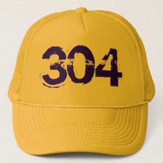 304 WV West Virginia Trucker Cap Hat
