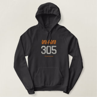 305 Miami Embroidered Hoodie