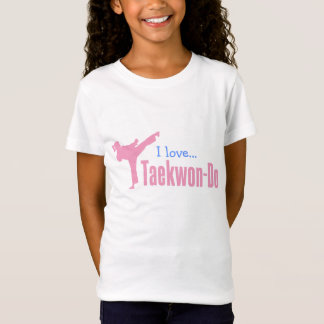 307-1 Young Girls Taekwon-Do Shirt