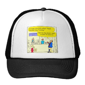 308 teach yourself pet cartoon cap