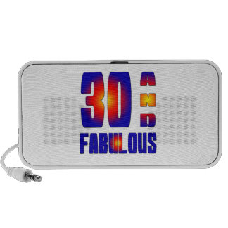 30 And Fabulous Speakers