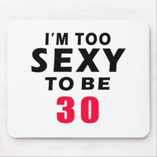 30 birthday designs mouse pads