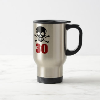 30 Birthday Designs Travel Mug