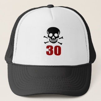 30 Birthday Designs Trucker Hat