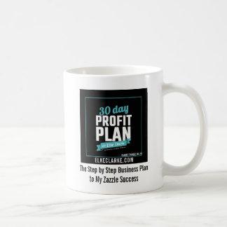 30 Day Profit Plan Advanced Zazzle Course Success Coffee Mug