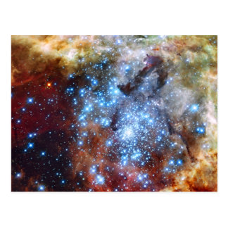 30 Doradus Nebula Star Clusters Postcard