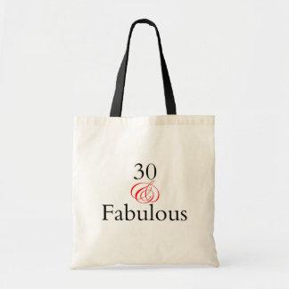30 & Fabulous Budget Tote Bag