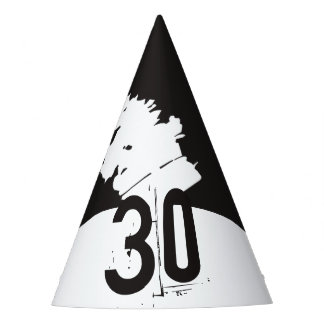 30 for a 30th Birthday Party Hat