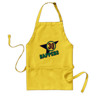 30 Happens 30th Birthday Gifts Apron