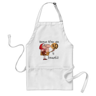 30 is Beautiful Tshirts and Gifts Standard Apron