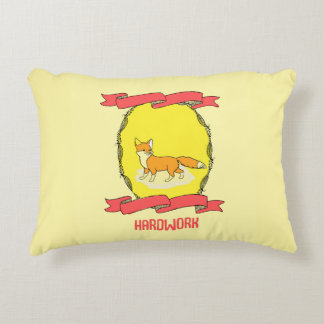 30% OFF SALE Hardwork Pillow Quote