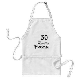 30 Really Funny Birthday Designs Standard Apron