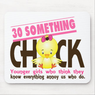 30-Something Chick 3 Mousepads