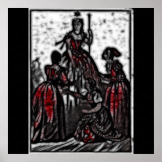 30 - Widow Queen Poster