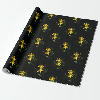 "30""x6' Glacier Lily Flower Montana Wrapping Paper"