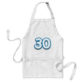 30 Year Birthday or Anniversary - Add Text Standard Apron
