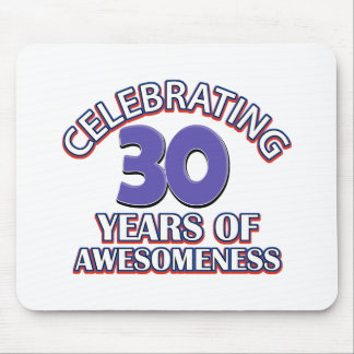 30 year old birthday designs and gifts mouse pad