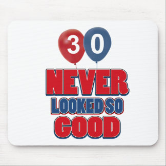 30 year old birthday designs mousepads