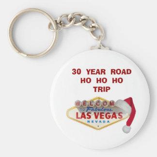 30  YEAR  ROADHO  HO  HO TRIP  Las Vegas Keychain