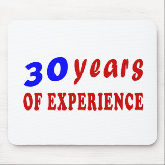 30 years of experience mouse pad