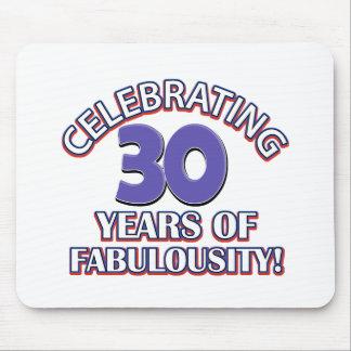 30 years of fabulousity mousepad